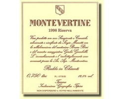 Montevertine 1991er