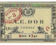 A.E.Dor Cognac Vielle Reserve No 8