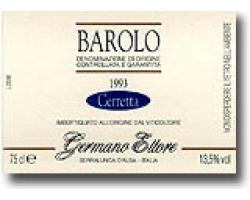 Barolo DOCG Cerretta  1998er